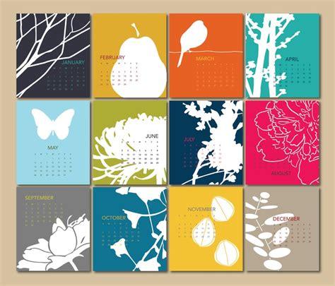 calendar theme layout 2013 calendar cards only by modernarteveryday on etsy 14