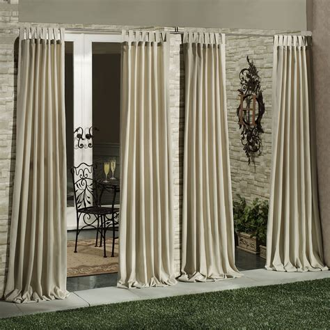 Outdoor Patio Curtains Outside Curtains For Patio Newsonair Org