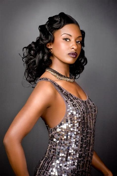 african american hairdo in the 1920 glamorous hairstyle wedding hairstyles pinterest