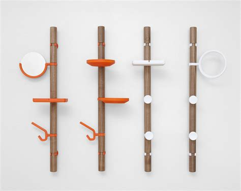 designer coat hooks for all your stuff yanko design