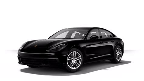 2018 black porsche panamera 2018 porsche panamera exterior paint color options