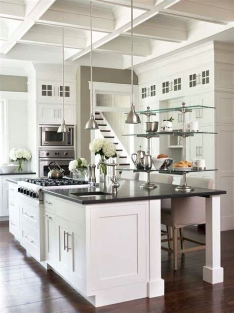 best greige paint color for kitchen cabinets avenue greige kitchen with white counters and black