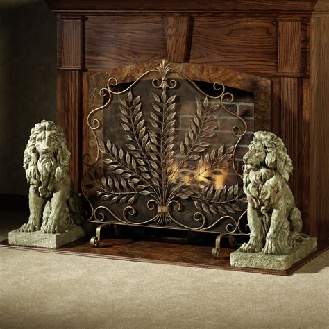 Unique Fireplace Screen by Vintage Fireplace Screens With Doors For Family Room