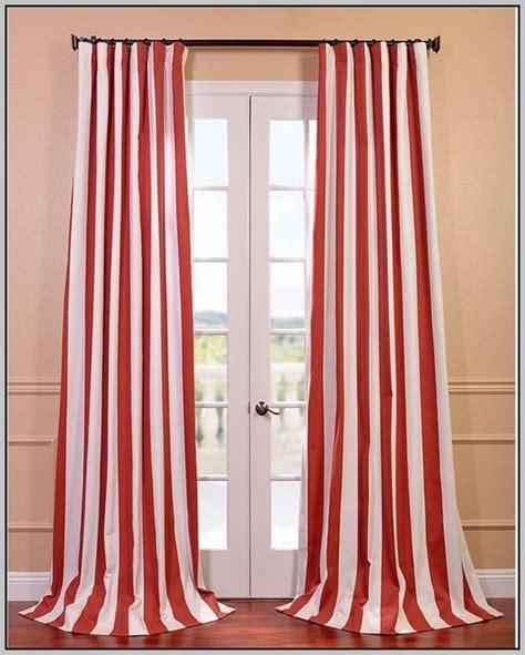 red and white striped curtain panels red and pink striped curtains curtain menzilperde net