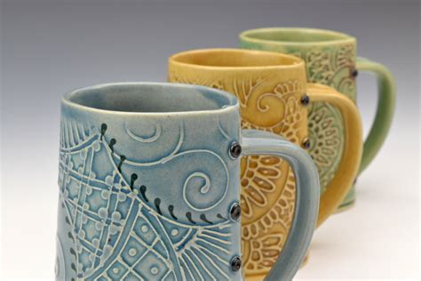 Handmade Clay Pottery - ceramic clay mugs reversadermcream