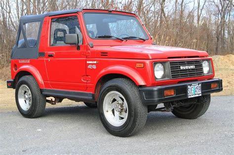 all car manuals free 1986 suzuki sj engine control 1986 suzuki samurai in glenmont ny car wash cars inc