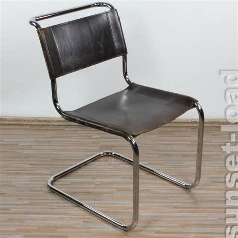 thonet stuhl gebraucht freischwinger thonet s33 patinaleder mart stam 1926