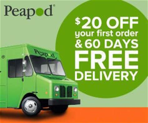 Peapod Gift Card - peapod 20 off free delivery for 60 days promo code borntocouponborntocoupon