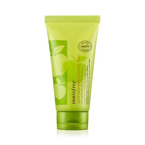 Harga Innisfree Apple Cleansing Foam Kulit Kombinasi 8 produk pembersih wajah korea terbaik untuk semua jenis