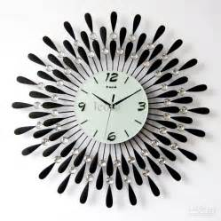 Living Room Clocks Using Oversized Wall Clocks To Decorate Your Home