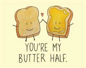You Re My Butter Half My Butter Half Etsy