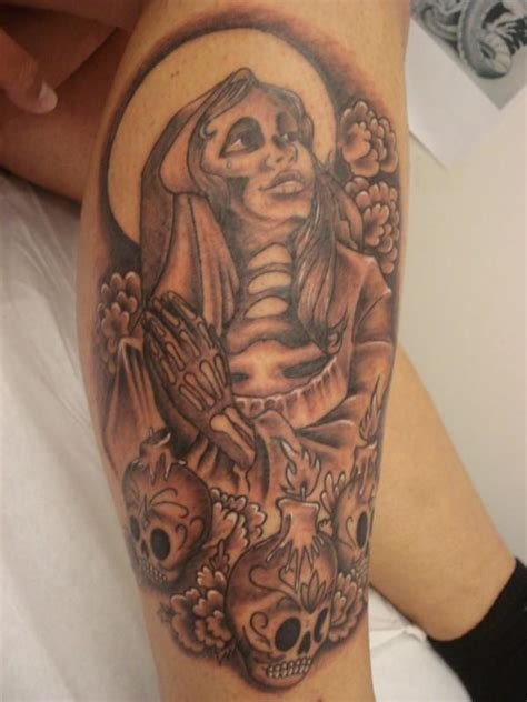 santa muerte tattoos designs tattoos portrayals of the santa muerte