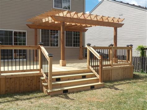 pergola plans attached to house beautiful how to build a