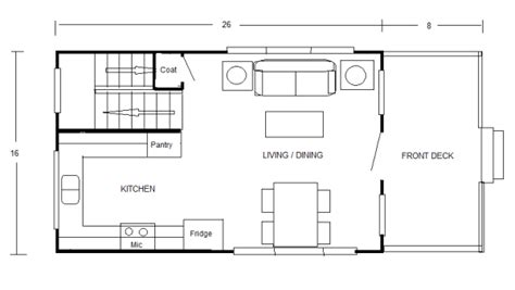 800 sq ft open floor plans small cottage floor plans concept drawings by robert olson