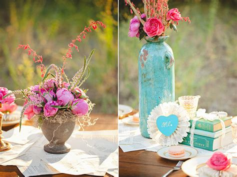 Turquoise And Pink Wedding Decorations by Pink And Turquoise Wedding Inspiration