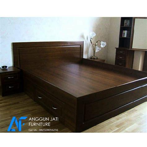 Ranjang Kayu Modern tempat tidur jati minimalis dipan jati minimalis modern