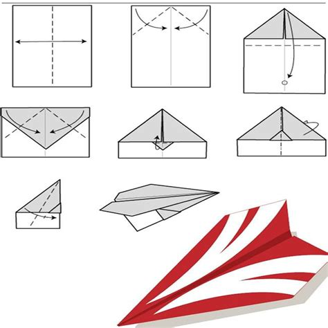 How To Make The Fastest Paper Plane - fast paper airplanes images