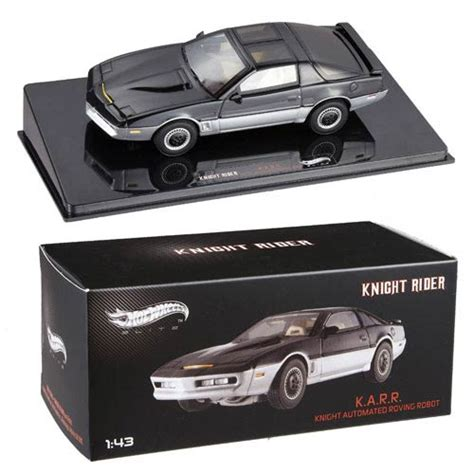 Modellino KARR Knight Rider (Supercar) 1:43 Hot Weels Elite