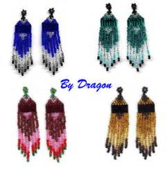 Earring patterns beading patterns and kits by dragon the art