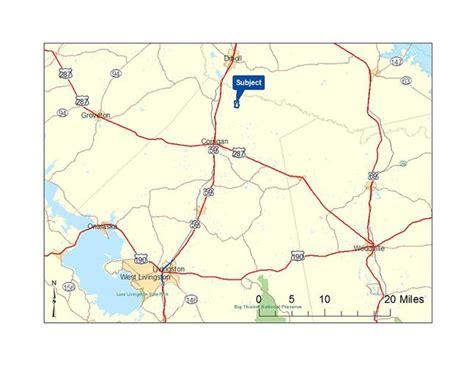 polk county texas map sold land near 80 acres in polk county at fm 1987 75939 corrigan texas
