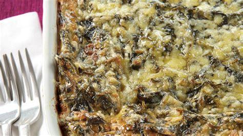 spinach cottage cheese casserole spinach cheese casserole grandparents