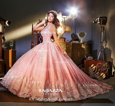 Rafazza Dress pink illusion quinceanera dress by ragazza fashion style