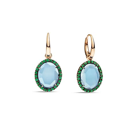pomellato earrings pomellato earrings colpo di fulmine in blue lyst