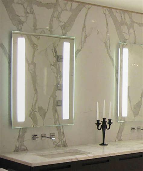 fusion led bathroom lighted mirror electric mirror 174