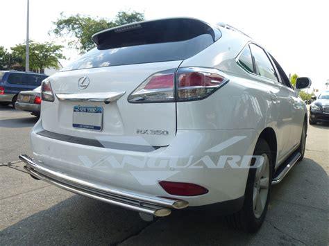 lexus rear bumper vanguard 10 15 lexus rx350 rear bumper protector grill