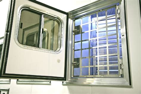 windows that swing open grand tour of ranch country estate luxury horse trailers