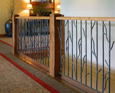Inside Handrails Iron Design Center Nw Lighting Railings Interior