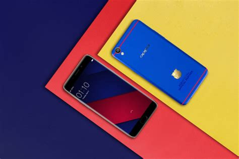 Casing Oppo F1 Plus Corona Custom oppo unveils an fc barcelona themed f1 plus with a gold plated insignia android authority