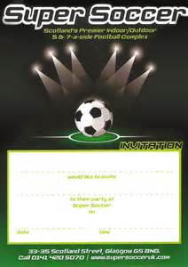 Soccer Invitation Template by Soccer Uk Homepage Soccer