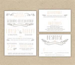 free rsvp template printable wedding invitation and rsvp template rustic diy
