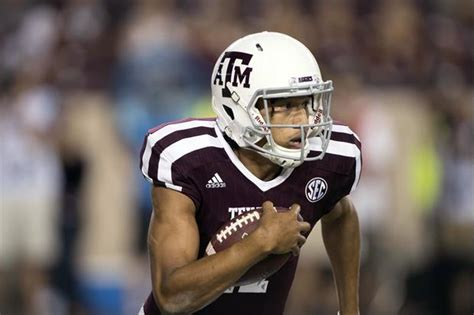 kellen mond  texas ams starting qb  heres