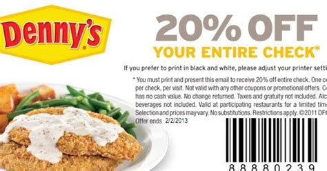 printable restaurant coupons august 2015 dennys printable coupons august 2015