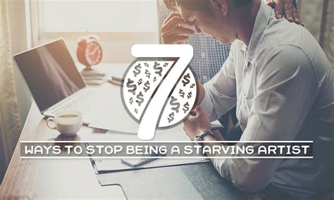 7 Ways To Stop Being A Pleaser by 7 Ways To Stop Being A Starving Artist The Font Bundles