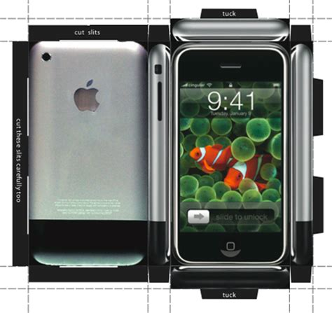 How To Make A Paper Iphone - how to an iphone right now well sort of the