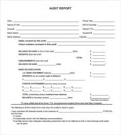 audit findings report template sle audit report 6 documents in pdf