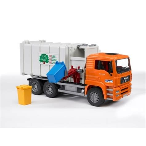 Bruder Garbage Truck Model Trucks Pinterest