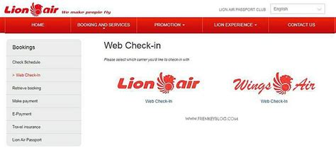 tutorial web check in lion air indonesian travel blogger