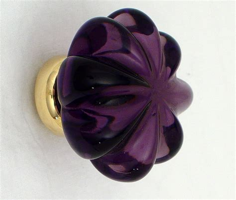 Purple Drawer Knobs by Purple Glass Knobs Cabinet And Drawer