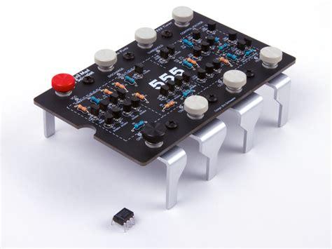 integrated circuit ne555 555 kit version 2 0 evil mad scientist laboratories