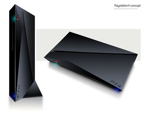 console ps4 ps4 console concept design by paulbatt on deviantart