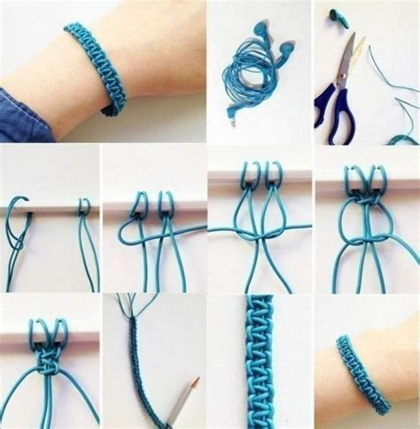 Easy Macrame Projects - diy macrame bracelet fad bracelets bijoux