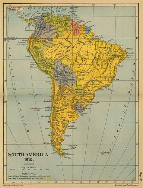south america map free whkmla historical atlas south america page