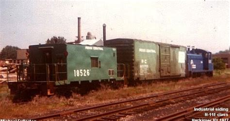 Eddie S Rail Fan Page An Early Conrail Switching Local At