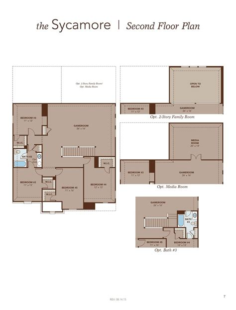 sycamore floor plan sycamore home plan by gehan homes in fairways of chions