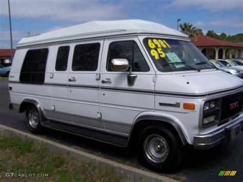 1995 gmc vandura 1995 white gmc vandura g2500 conversion 27449344