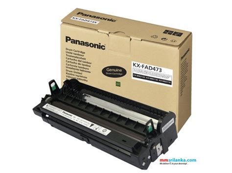 Panasonic Toner Cartridge Kx Fat472e panasonic kx fad473e drum unit
